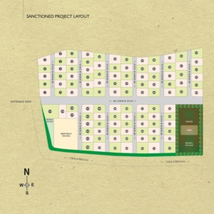 Nisargsrishti layout plan